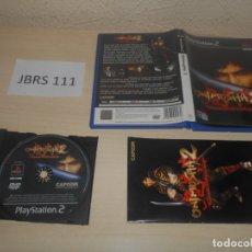 Videojuegos y Consolas: PS2 - ONIMUSHA 2 , PAL ESPAÑOL , COMPLETO. Lote 178811605