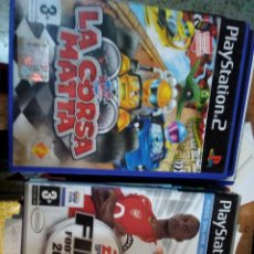 Videojuegos y Consolas: LA CORSA MATTA + REGALO FIFA 2005 PLAYSTATION 2. Lote 178987335