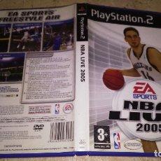 Videojuegos y Consolas: PS2 , NBA LIVE 2005. Lote 179087455