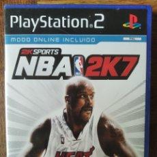 Videojuegos y Consolas: NBA 2K7 - PLAYSTATION 2 PS2 - JUEGO PAL ESPAÑA - . Lote 179087856