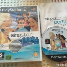 Videojuegos y Consolas: SINGSTAR PARTY SING STAR PS2 PLAYSTATION 2 PLAY STATION TWO KREATEN. Lote 179089736