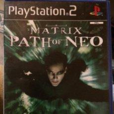 Videojuegos y Consolas: PLAYSTATION 2 PS2 MATRIX PATH OF NEO. Lote 179116427