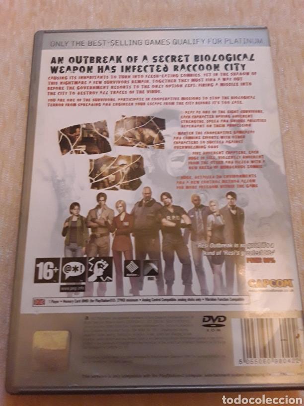 Videojuegos y Consolas: Resident Evil Outbreak ps2 sony - Foto 2 - 179264716