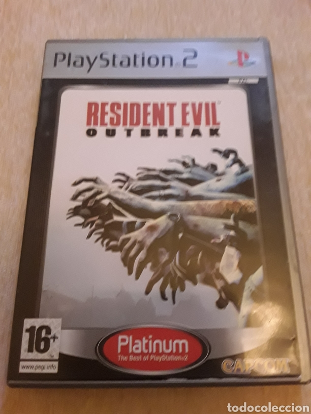 RESIDENT EVIL OUTBREAK PS2 SONY (Juguetes - Videojuegos y Consolas - Sony - PS2)