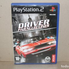 Videojuegos y Consolas: JUEGO SONY PLAYSTATION 2 - PAL - DRIVER PARALLEL LINES - COMPLETO - PS2. Lote 179544765