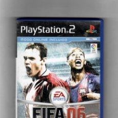 Videojuegos y Consolas: FIFA 06 - SEGUNDA MANO, DVD ESTADO BUENO - NO CONTIENE MANUAL. Lote 54871877