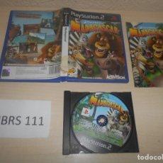 Videojuegos y Consolas: PS2 - MADAGASCAR , PAL ESPAÑOL , COMPLETO. Lote 180227321