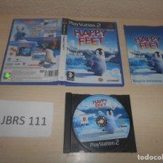 Videojuegos y Consolas: PS2 - HAPPY FEET , PAL ESPAÑOL , COMPLETO. Lote 180227408