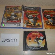 Videojuegos y Consolas: PS2 - KUNG FU PANDA , EL VIDEOJUEGO , PAL ESPAÑOL , COMPLETO. Lote 180227491