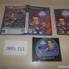 Videojuegos y Consolas: PS2 - JIMMY NEUTRON - ATTACK OF THE TWONKIES , PAL UK , COMPLETO. Lote 180227673