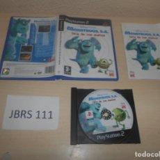 Videojuegos y Consolas: PS2 - MOUSTRUOS S.A , LA ISLA DE LOS SUSTOS , PAL ESPAÑOL , COMPLETO. Lote 180227738