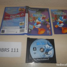 Videojuegos y Consolas: PS2 - DISNEY DONALD DUCK QUAK ATTACK , PAL ESPAÑOL , COMPLETO. Lote 180227830