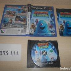 Videojuegos y Consolas: PS2 - MOUSTRUOS CONTRA ALIENIGENAS , PAL ESPAÑOL , COMPLETO. Lote 180227923