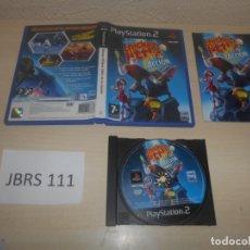 Videojuegos y Consolas: PS2 - DISNEY CHICKEN LITTLE AS EN ACCION , PAL ESPAÑOL , COMPLETO. Lote 180228291