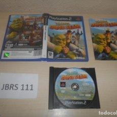 Videojuegos y Consolas: PS2 - SHREK SUPERSLAM , PAL ESPAÑOL , COMPLETO. Lote 180228393