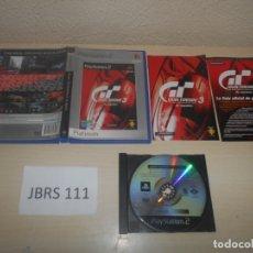 Videojuegos y Consolas: PS2 - GRAN TURISMO 3 A-SPEC , PAL ESPAÑOL , COMPLETO. Lote 180228532