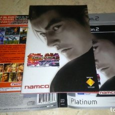 Videojuegos y Consolas: PS2 , TEKKEN TAG , MANUAL Y CARÁTULA PAPEL. Lote 180274468