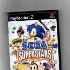 Videojuegos y Consolas: SEGA SUPERSTARS -PLAYSTATION 2 - CON MANUAL - SEGUNDA MANO, DVD ESTADO MUY BUENO. Lote 54872785