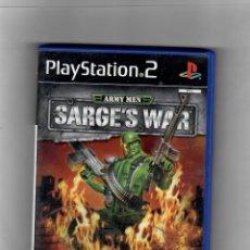 Videojuegos y Consolas: ARMY MEN-SARGE´S WAR [PS2] -EN CASTELLANO -CON MANUAL . SEGUNDA MANO BIEN. Lote 49667867