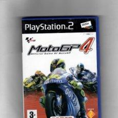 Videojuegos y Consolas: MOTO GP4 [PS2] EN CASTELLANO - CON MANUAL - SEGUNDA MANO BUENO. Lote 49668179
