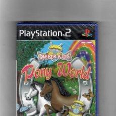Videojuegos y Consolas: PONY WORLD [PS2] ESPAÑOL Y PORTUGES NUEVO 2004. Lote 49591222