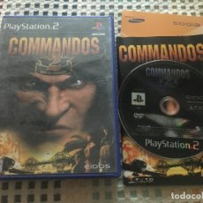 Videojuegos y Consolas: COMMANDOS 2 MEN OF COURAGE PS2 PLAYSTATION 2 PLAY STATION TWO KREATEN. Lote 180420452