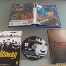 Videojuegos y Consolas: PRIMAL PS2 PLAYSTATION 2 COMPLETO PAL-ESPAÑA. Lote 220572567