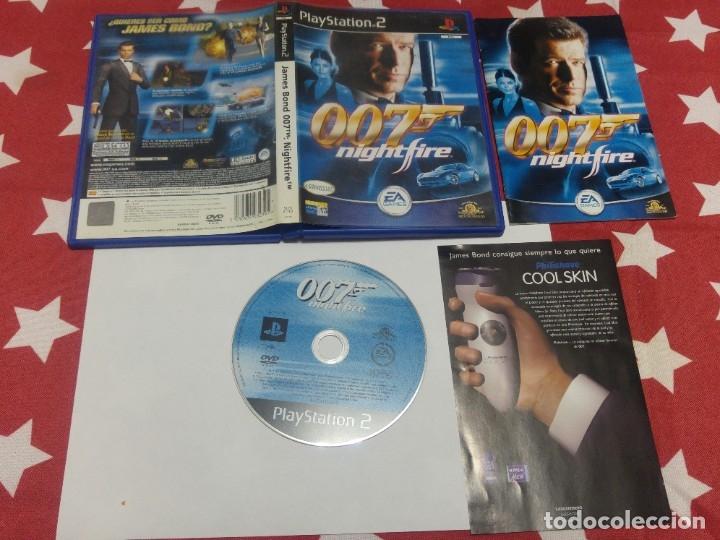 JAMES BOND 007 NIGHTFIRE PS2 PLAYSTATION 2 COMPLETO PAL-ESPAÑA (Juguetes - Videojuegos y Consolas - Sony - PS2)