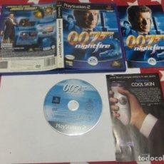 Videojuegos y Consolas: JAMES BOND 007 NIGHTFIRE PS2 PLAYSTATION 2 COMPLETO PAL-ESPAÑA. Lote 181403058