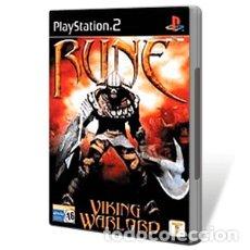 Videojuegos y Consolas: LOTE OFERTA JUEGO PLAY STATION 2 - PS2 - RUNE VIKING WARLORD - CON SU MANUAL. Lote 181450433