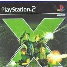 Videojuegos y Consolas: LOTE OFERTA JUEGO PLAY STATION 2 - PS2 - X SQUAD - CON SU MANUAL. Lote 181479242