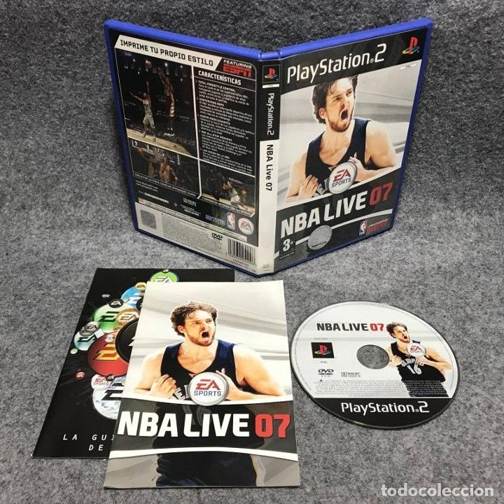NBA LIVE 07 SONY PLAYSTATION 2 PS2 (Juguetes - Videojuegos y Consolas - Sony - PS2)