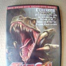 Videojuegos y Consolas: DVD- DEMO PROMOCIONAL POR RESERVAR EL JUEGO TUROK EVOLUTION-DVD MUY BUEN ESTADO-VER FOTOS. Lote 181864373