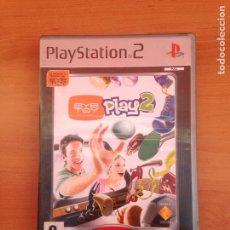 Videojuegos y Consolas: JUEGO PS2 EYE TOY PLAY 2 PS2. Lote 182081341