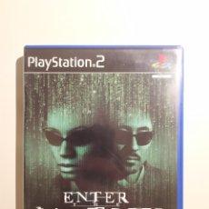 Videojuegos y Consolas: ENTER THE MATRIX PS2 - PLAYSTATION 2. Lote 182320781