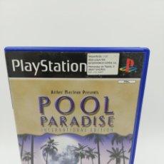 Videojuegos y Consolas: POOL PARADISE INTERNATIONAL EDITION PS2. Lote 182617285