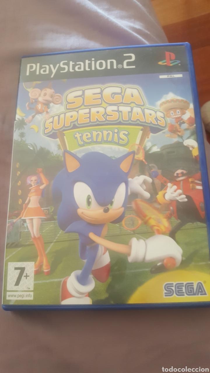 JUEGO DE PLAY 2 SEGA SUPERSTARS TENNIS (Juguetes - Videojuegos y Consolas - Sony - PS2)