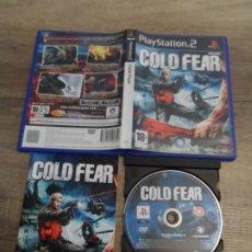 Videojuegos y Consolas: PS2 COLD FEAR PAL ESP COMPLETO. Lote 182778828