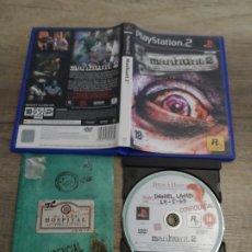 Videojuegos y Consolas: PS2 MANHUNT 2 PAL ESP COMPLETO. Lote 182779153