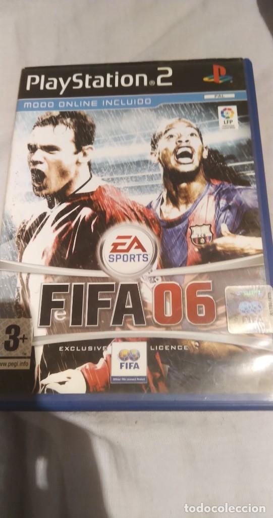 FIFA 06 PS2 (Juguetes - Videojuegos y Consolas - Sony - PS2)
