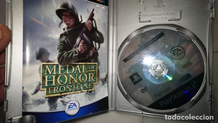 Videojuegos y Consolas: MEDAL OF HONOR FRONTLINE PS2 PLAYSTATION 2 - Foto 2 - 182910762