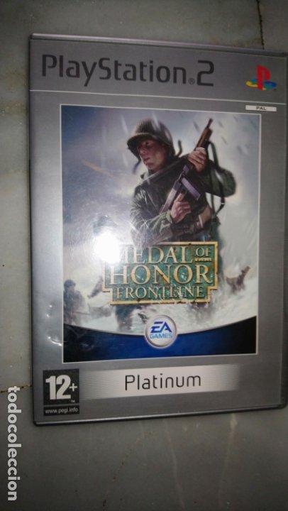 MEDAL OF HONOR FRONTLINE PS2 PLAYSTATION 2 (Juguetes - Videojuegos y Consolas - Sony - PS2)