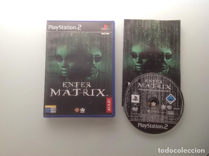ENTER THE MATRIX. PS2 (Juguetes - Videojuegos y Consolas - Sony - PS2)