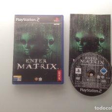 Videojuegos y Consolas: ENTER THE MATRIX. PS2 . Lote 182939676
