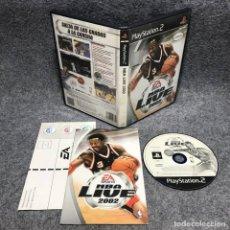 Videojuegos y Consolas: NBA LIVE 2002 SONY PLAYSTATION 2 PS2. Lote 183015602