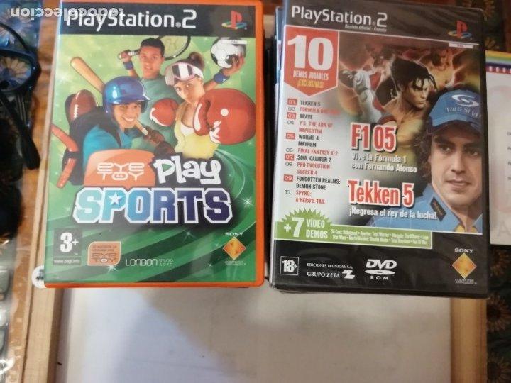Videojuegos y Consolas: CONSOLA PLAYSTATION 2 ,JUEGOS Y DEMOS. - Foto 12 - 183040512