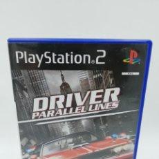 Jeux Vidéo et Consoles: DRIVER PARALLEL LINES PS2. Lote 183089383