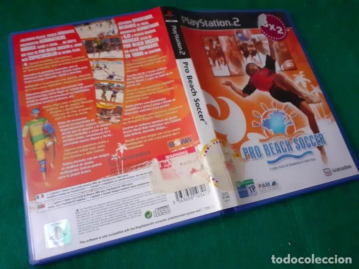 JUEGO PS2. PRO BEACH SOCCER (Juguetes - Videojuegos y Consolas - Sony - PS2)