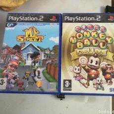 Videojuegos y Consolas: JUEGOS PLAY 2 MY STREET Y SUPER MONKEY BALL. Lote 183779706