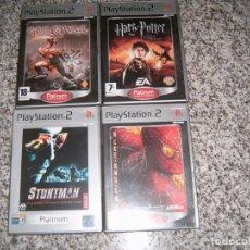 Videojuegos y Consolas: 4 JUEGOS PLAY 2 PLATINUM. Lote 183903667